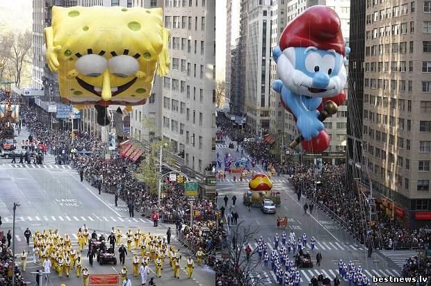Посмотреть новость Парад «Мэйси» В Нью-Йорке