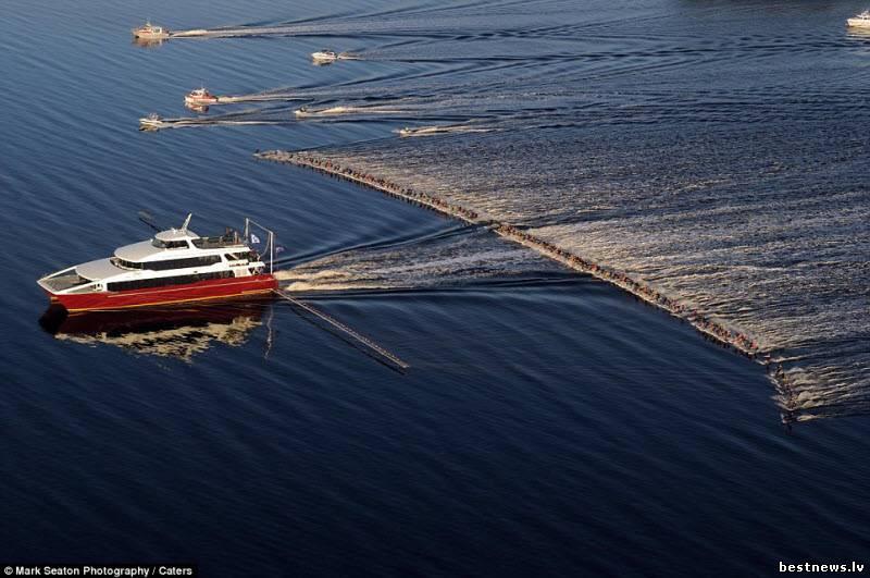 Посмотреть новость Мировой рекорд водных лыжников