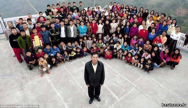 Посмотреть новость Самая многочисленная семья в мире