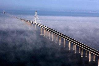 Посмотреть новость Самый длинный мост в мире Циндао Гайвань