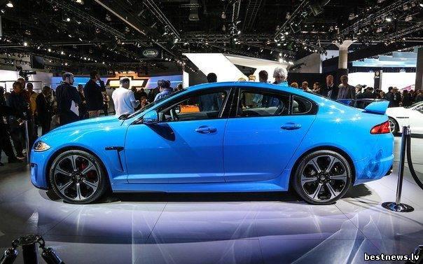 Посмотреть новость Новый суперкар Jaguar XFR-S (фото)