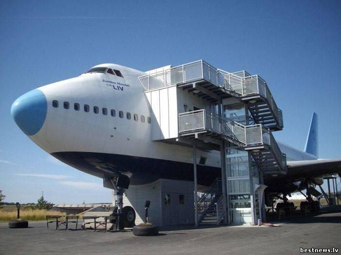 Посмотреть новость Отель на борту боинга 747