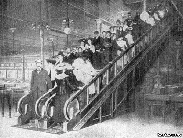 Посмотреть новость Эскалатор в диковинку