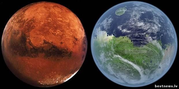 Посмотреть новость Какая же жизнь на Марсе могла быть?