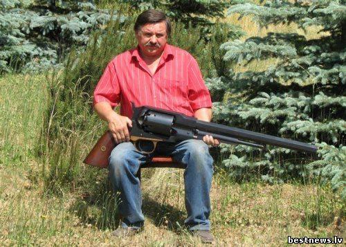 Посмотреть новость Самый большой и мощный в мире пистолет