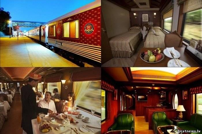 Посмотреть новость Чудо-поезд Maharajas' Express в Индии