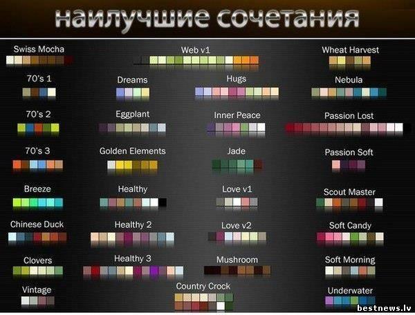 Посмотреть новость Правильные сочетания цвета в одежде