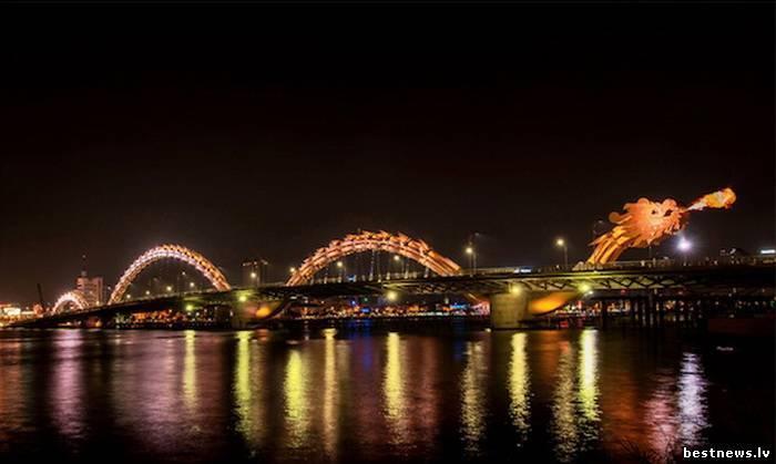 Посмотреть новость Мост Dragon Bridge во Вьетнаме или &quot...