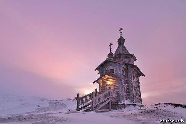 Посмотреть новость Русская церковь в Антарктиде