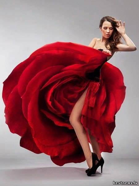 Посмотреть новость Цвет платья может Вам сказать многое о ж...