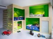 Дизайнерская кративная детская комната