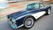 Пожалуй, такие машины никогда не уйдут из моды. На фото 1958 Chevrolet Corvette