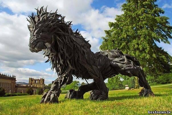 Фотография невероятные скульптуры