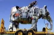 Слон из выброшенных на мусор телевизоров