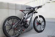 Велосипед от немецкого концерна автомобилей - Audi. Футуристично, не правда ли?