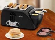 Специальная машина, готовящая завтрак
