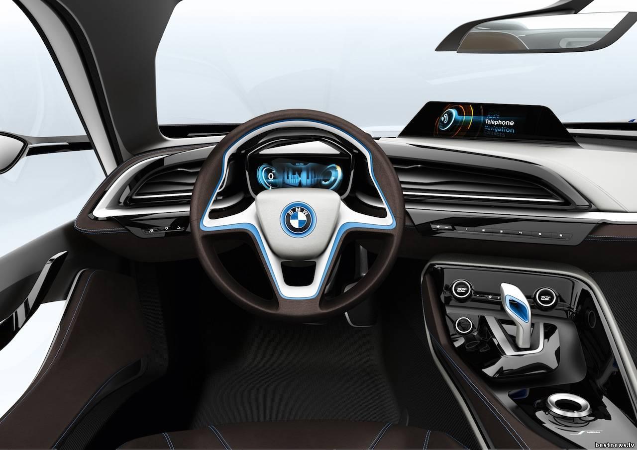 bmw i8 описание автомобиля